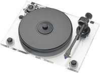 PRO-JECT platine TD 2Xperience DC ACRYL / AUDIO HARMONIA Bordeaux