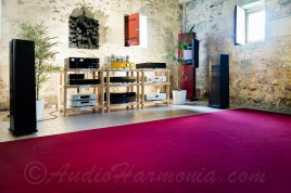 Salle 36 - LINE MAGNETIC / CADENCE CARBON TOUCH - Portes ouvertes AUDIO HARMONIA Mai 2016