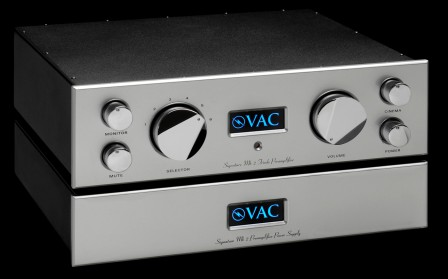 VAC préampli Signature MK2 face / AUDIO HARMONIA Bordeaux